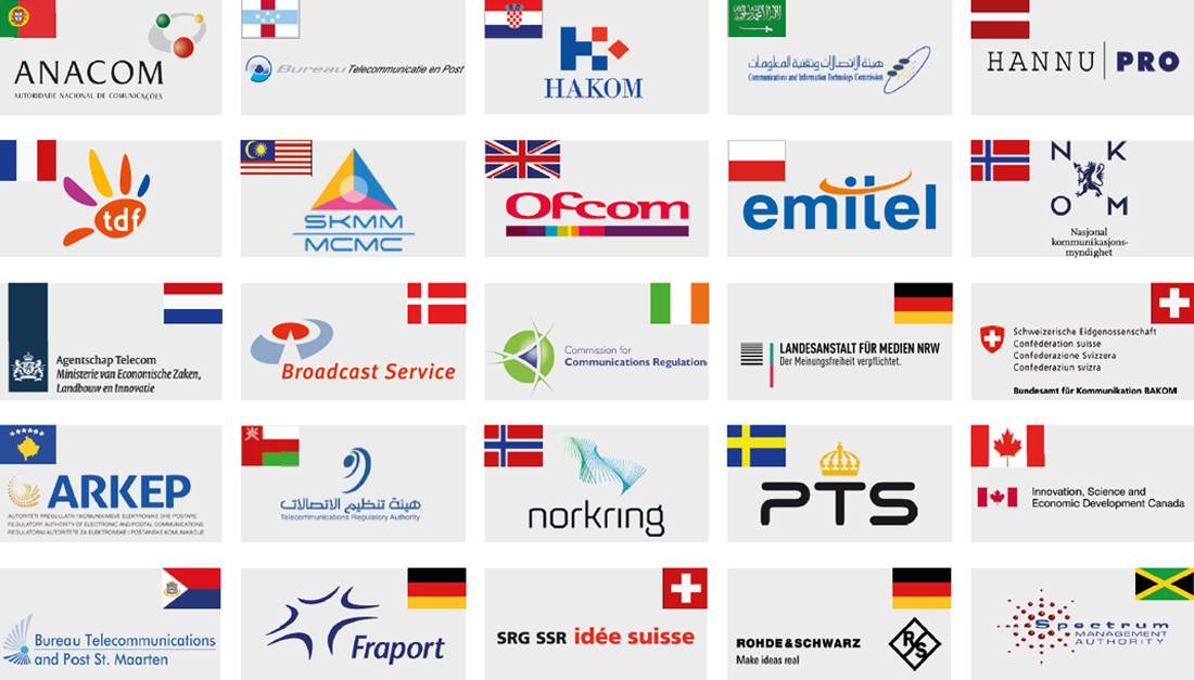 Logos of various Training Academy customers